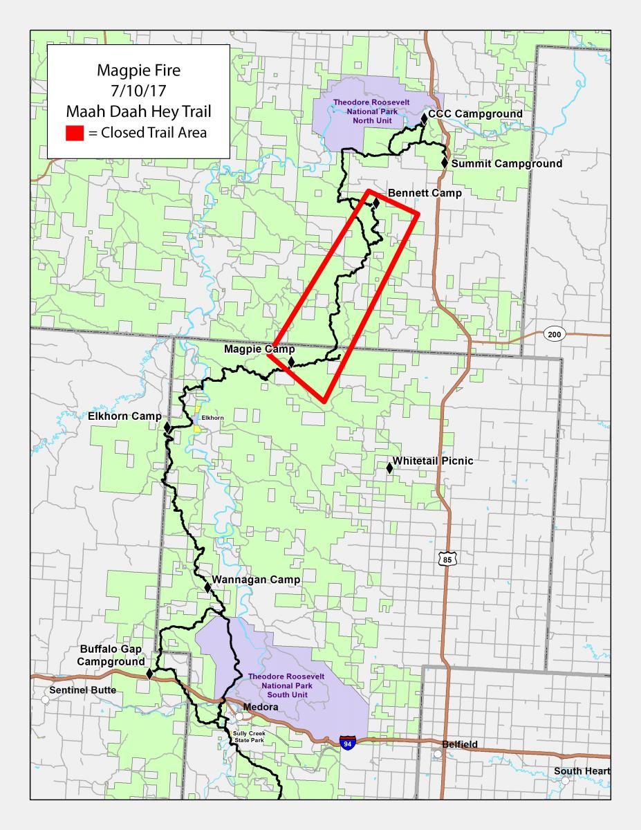 2017 Magpie Fire | ND Response on jordan river pathway trail map, long trail map, art loeb trail map, duncan ridge trail map, superior hiking trail map, downieville downhill trail map, silver comet trail map, phil's world trail map, big finn hill trail map, gooseberry mesa trail map, tahoe rim trail trail map, sheltowee trace trail map, new river trail state park map, pacific northwest trail map, ruby crest trail map, ouachita national recreation trail map, ozark trail map, mickelson trail south dakota map, metacomet-monadnock trail map, wasatch crest trail map,