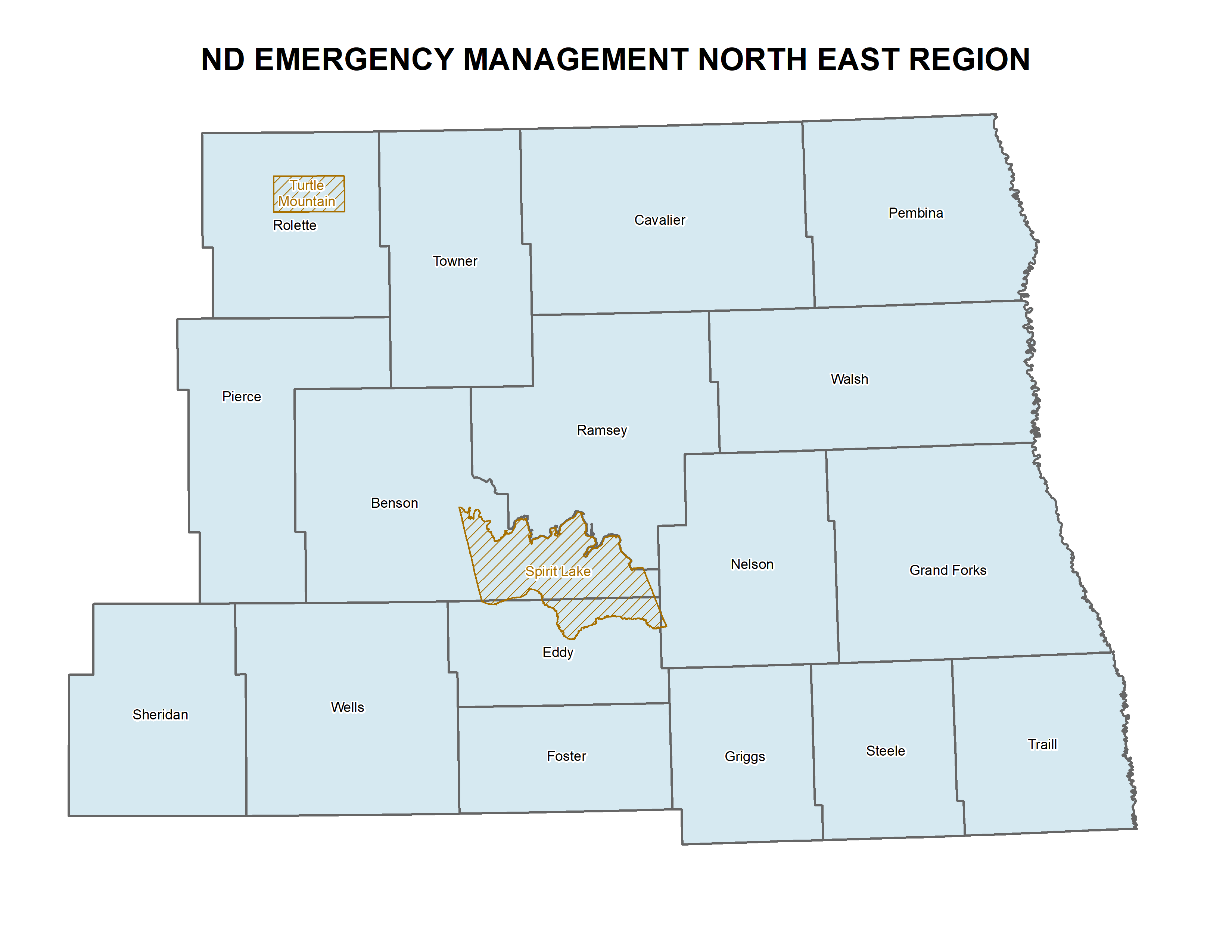 Northeast ND Region