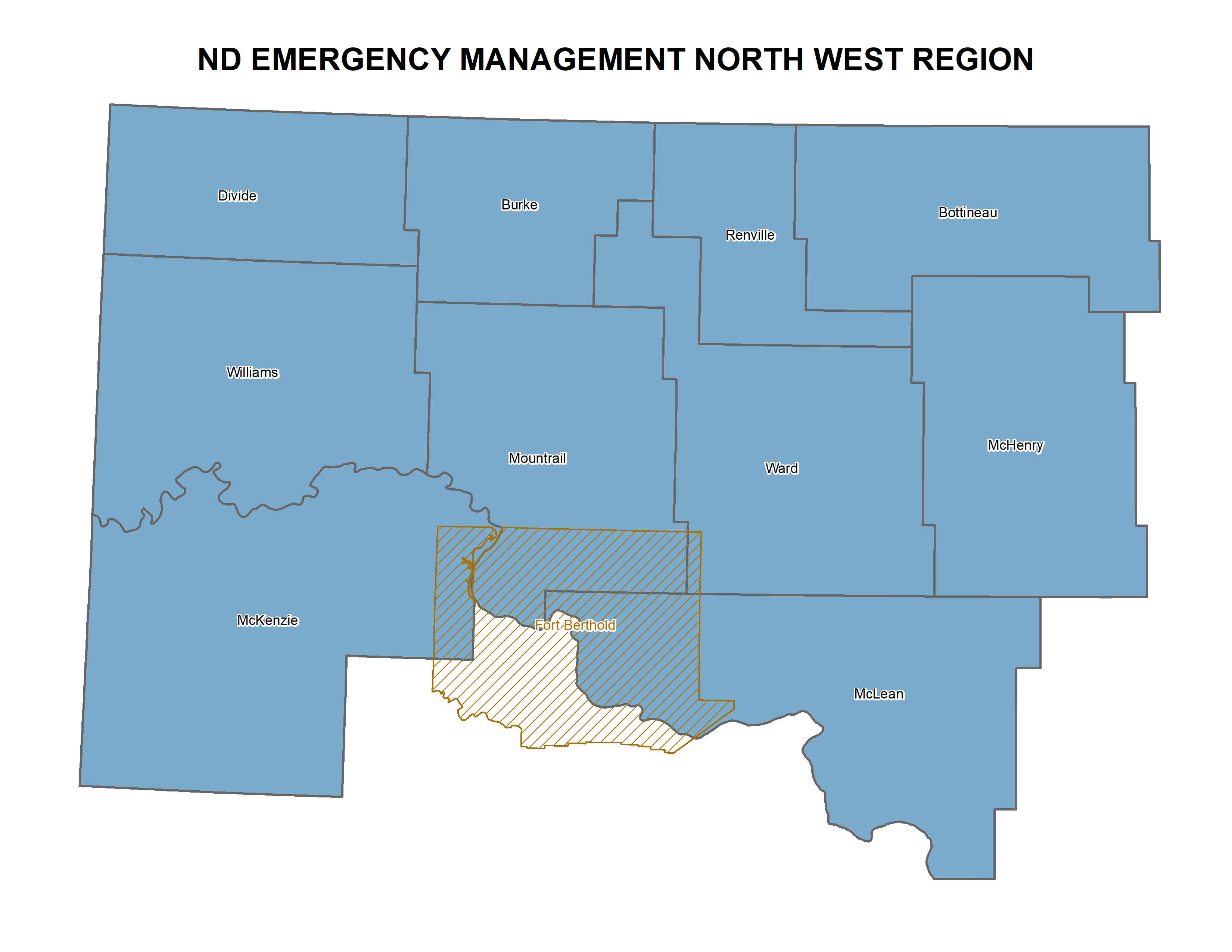 Northwest ND Region