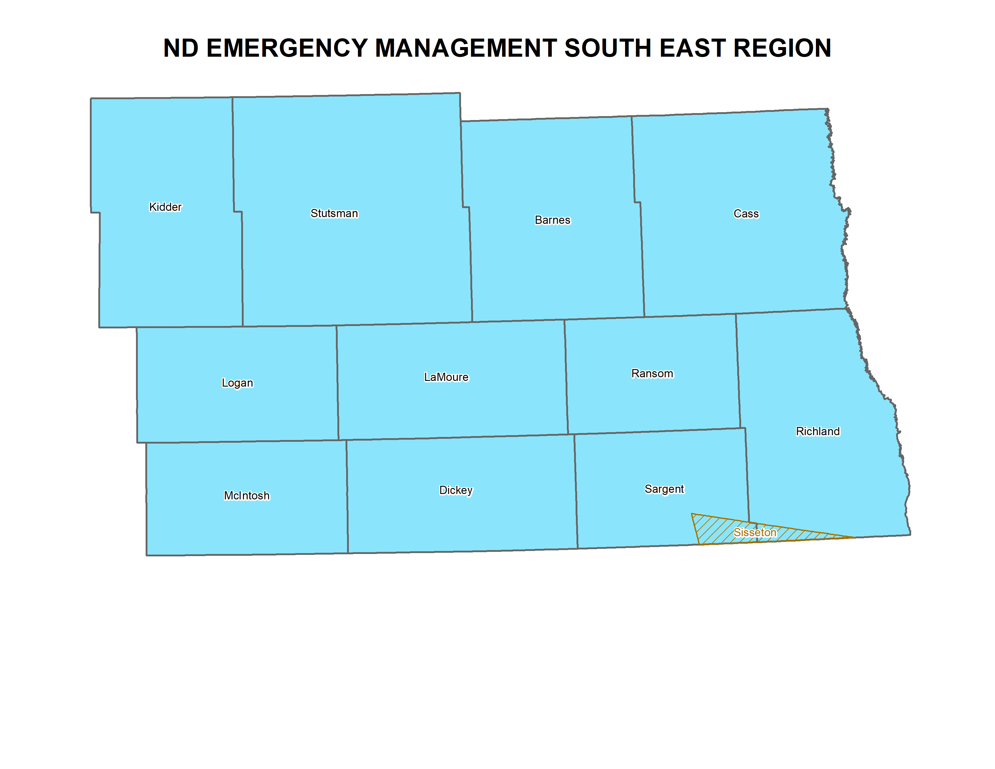 Southeast ND Region