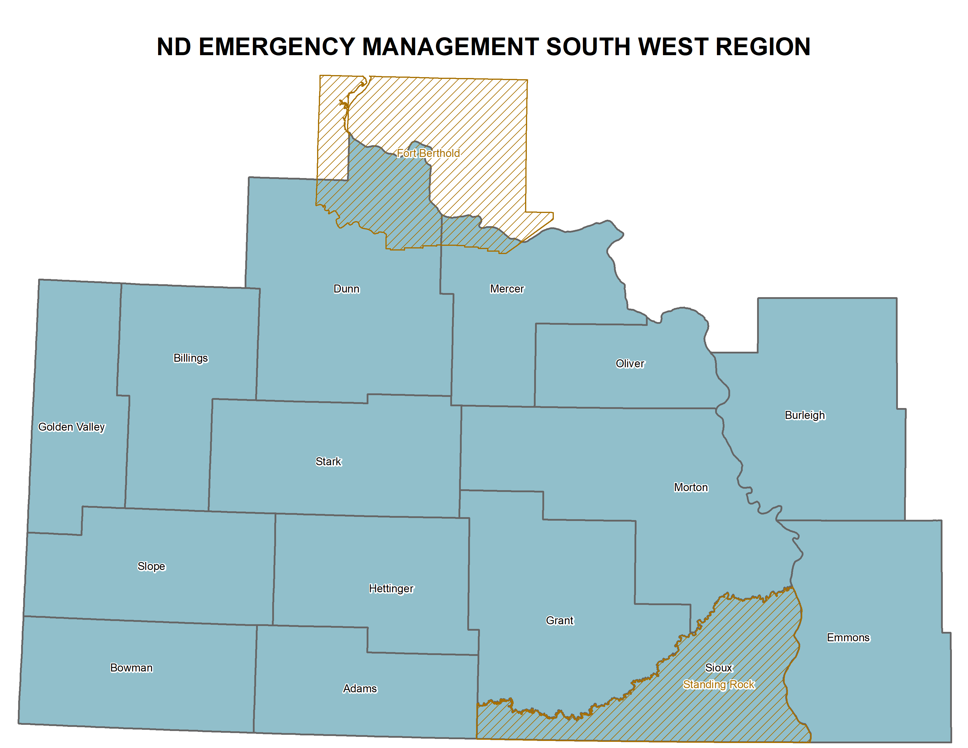Southwest ND Region